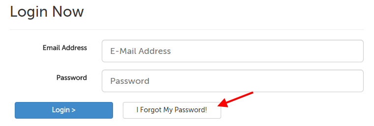 "The ""I forgot my password"" button"