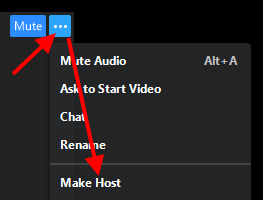 Make Host option